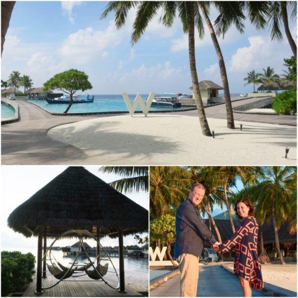 w maldives starwood spg luxury hotel reception