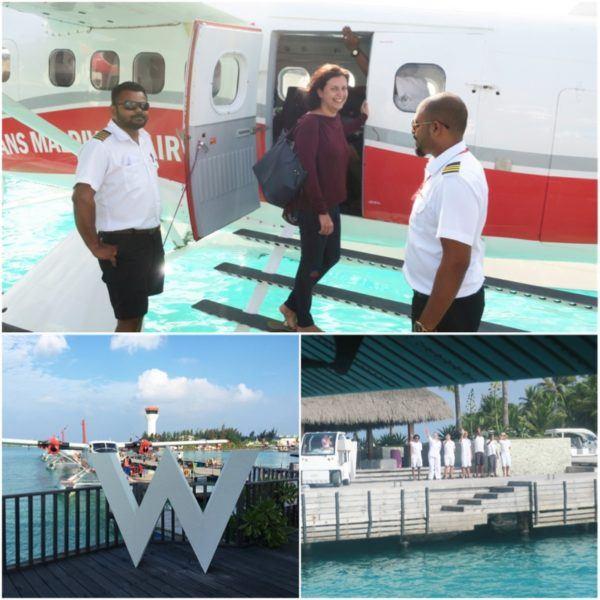 w maldives starwood spg luxury hotel trans maldivian sea plane male airport