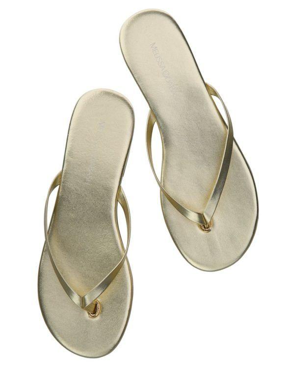 melissa-odabash-flip-flops-gold