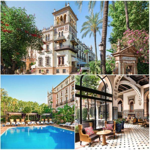 starwood luxury collection alfonso xiii luxury hotel seville sevilla spain