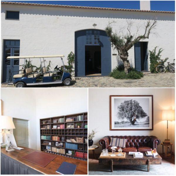 herdade sao lourenco do barrocal monsaraz alentejo portugal luxury hotel slh small luxury hotels of the world reception