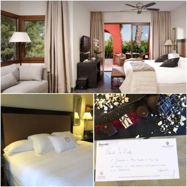 asia gardens luxury hotel spain alicante deluxe double superior bedroom 2 welcome amenity