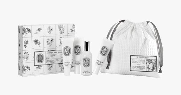 beauty travel set travel size beauty products Diptyque L'Art Du Soin Face & Body Travel Set