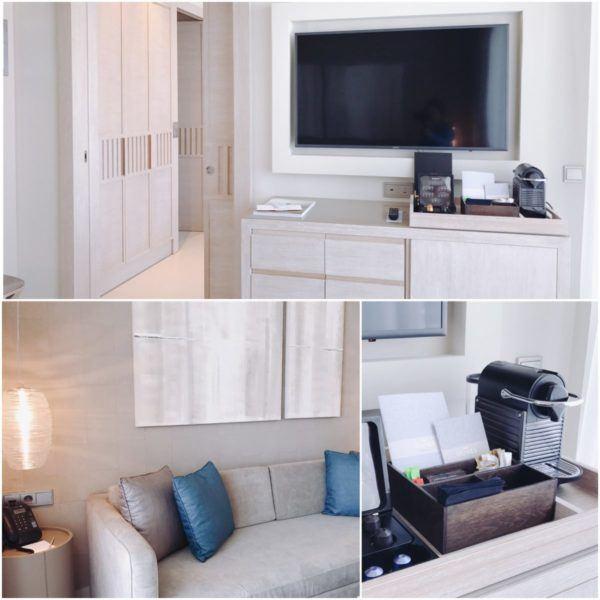 sani dunes luxury beach hotel resort halkidiki greece sovereign luxury travel suite living room