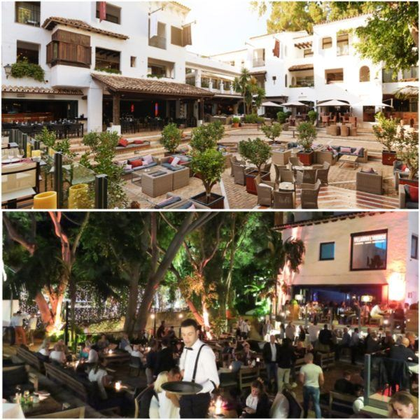 puente romano marbella luxury hotel review leading hotel of the world spain sovereign luxury travel outdoor restaurant plaza