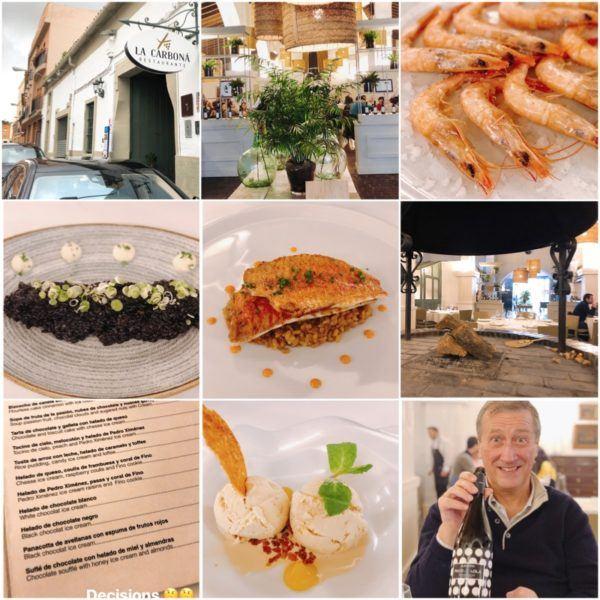 luxury weekend in seville with days out to jerez and jabugo andalucia spain jerez de la frontera private sherry tour gonzalez byass lunch at la carbona best restaurant jerez