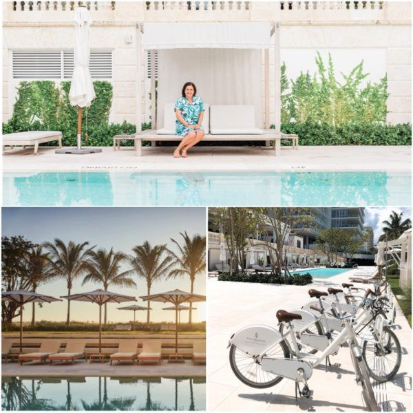 miami florida luxury hotel review four seasons hotel at the surf club surfside pool