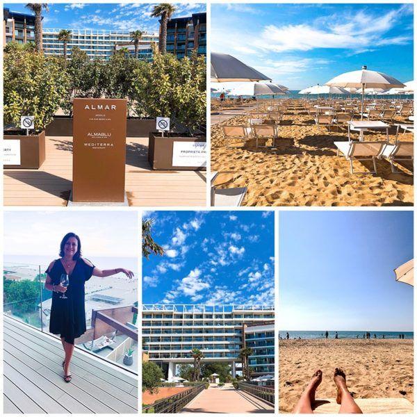 almar jesolo luxury hotel lido jesolo venice italy wellness beach balcony view