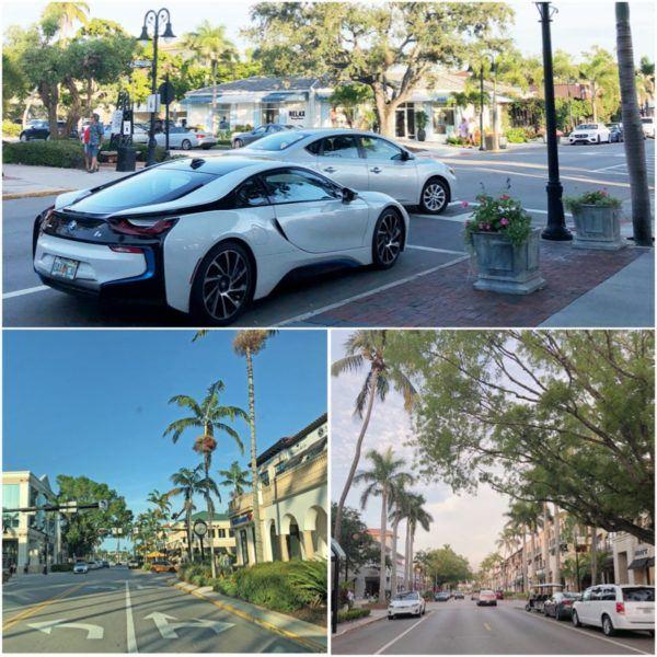 luxury weekend in naples florida downtown