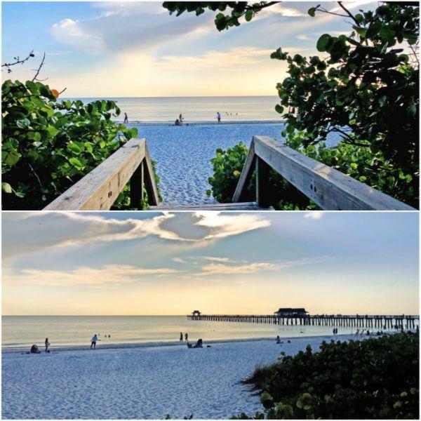 luxury weekend in naples florida naples beach pier sunset 2