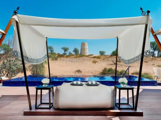 luxury hotels in the uae not in dubai abu dhabi st regis saadiyat ritz carlton al wadi desert resort ras al khaimah ajman oberoi al zorah