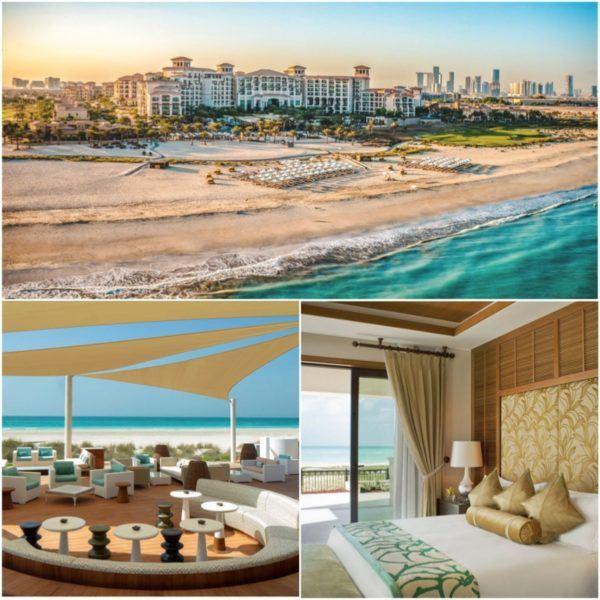 luxury hotels in the uae not in dubai st regis abu dhabi saadiyat island resort