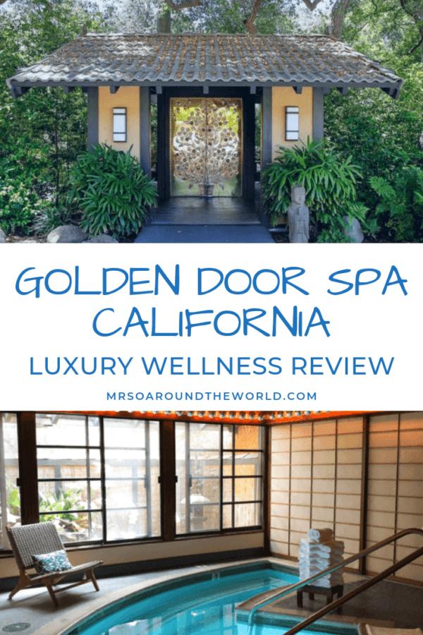 The Golden Door Spa California