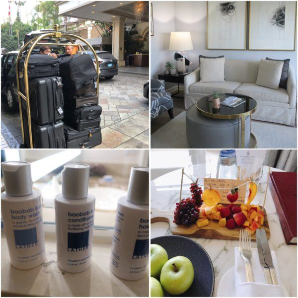 california road trip luxury travel beverly hills four seasons los angeles at beverly hills luxury hotel california wellness suites tumi luggage