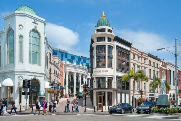 california road trip luxury travel beverly hills rodeo drive