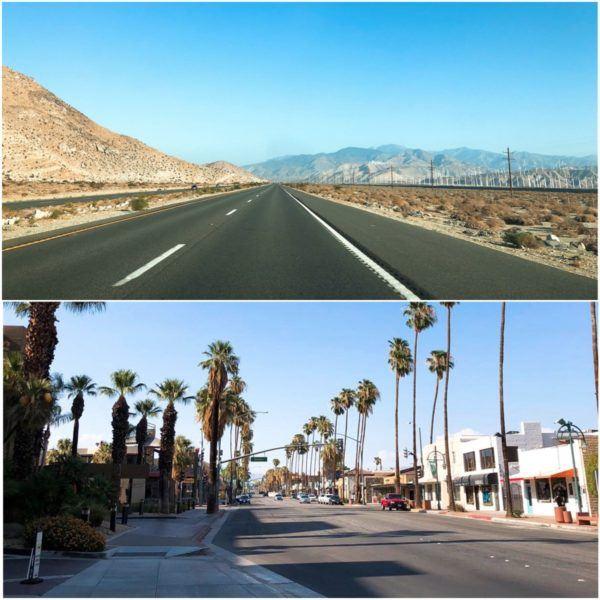 california road trip luxury travel palm springs