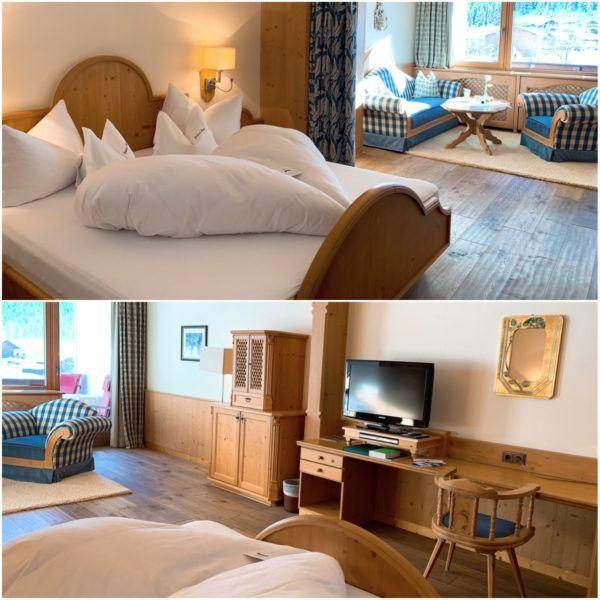 Jagdhof Luxury Ski Hotel Relais Chateau Neustift im Stubaital 30 minutes Stubaier Gletscher ski area innsbruck bedroom 1