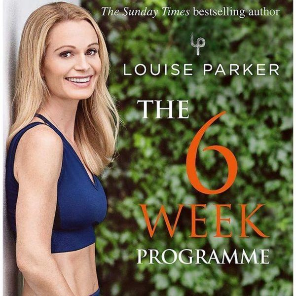 louise parker method 6 week programme book health and fitness journey book