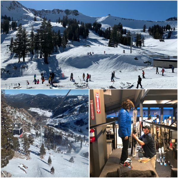 skiing in california luxury travel road trip north lake tahoe squaw valley views ski rentals