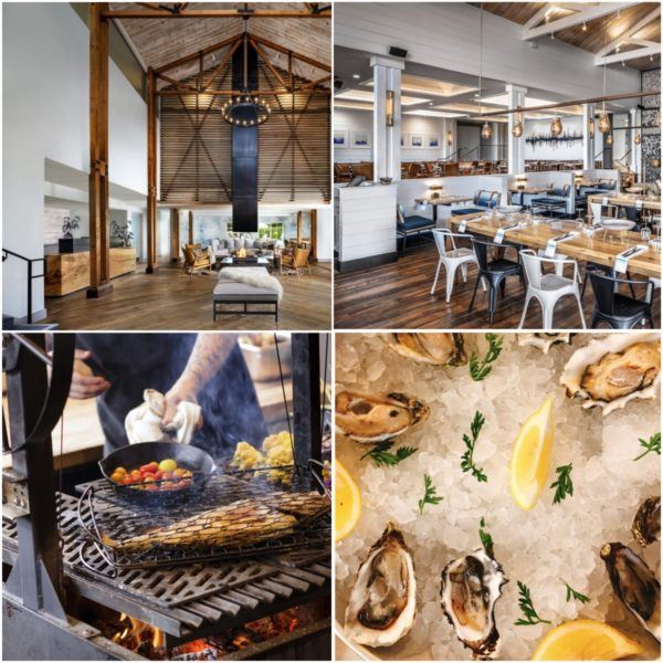 California road trip luxury travel tips monterey marina luxury hotel sanctuary beach resort renovated reception salt wood restaurant grilled fish and oysters