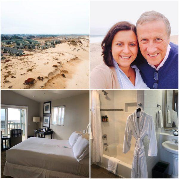 California road trip luxury travel tips monterey marina luxury hotel sanctuaty beach resort rooms not renovated