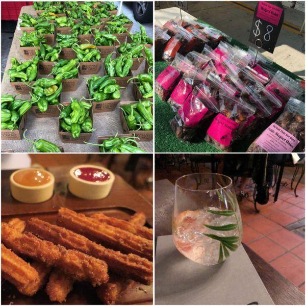 california roadtrip santa barbara organic farmers market and dinner at la loquita spanish restaurant