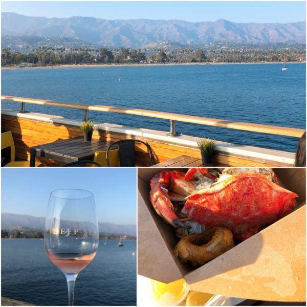 luxury california roadtrip santa barbara urban wine trail wine tasting sunset deep sea wineries and fresh crab