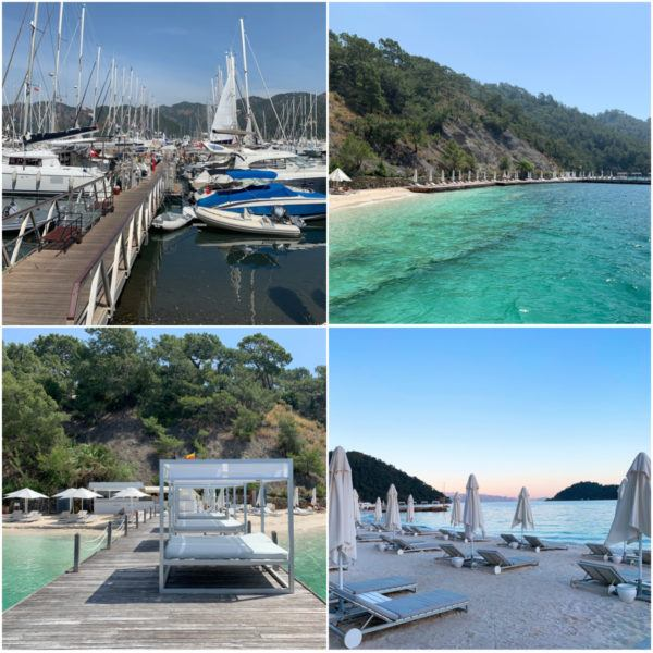 luxury holidays turkey gocek luxury hotel d resort beach club sandy beach