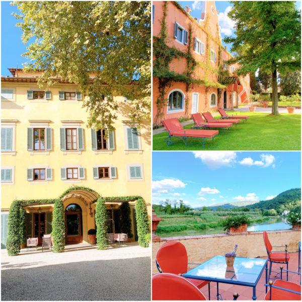 villa la massa luxury hotel Florence city break