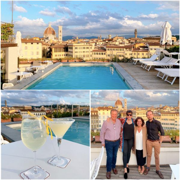best rooftop bar in florence gran hotel minerva santa maria novella limoncello spritz a girl in florence