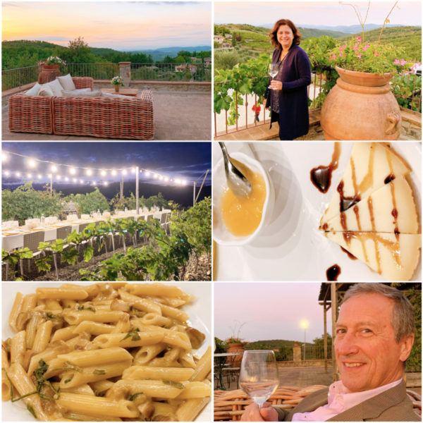 chianti wine tour vineyard dinner poggio amorelli an hour from florence