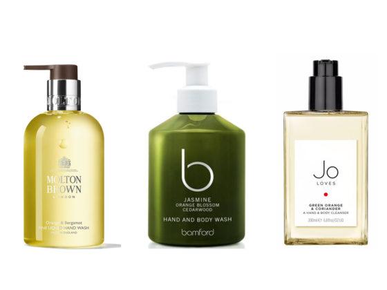 10 best hand washes molton brown jo malone dyptiqye byredo acqua di parma aromatherapy associates bamford jo loves tom dixon