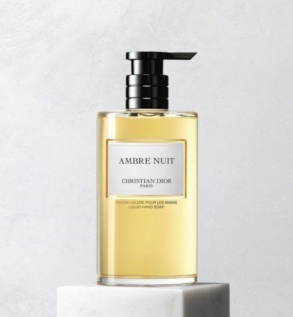 dior amber nuit luxury hand wash