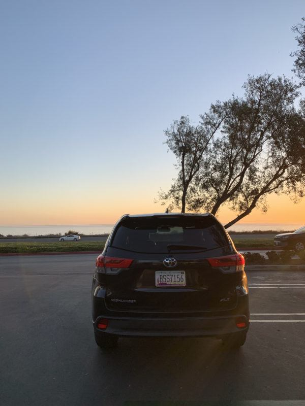 how to get around in California car hire