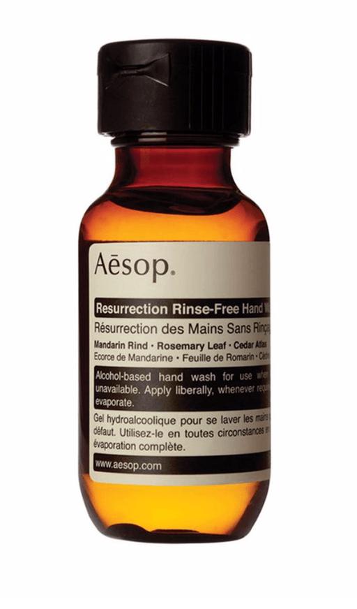 aesop ressurection rinse free hand wash