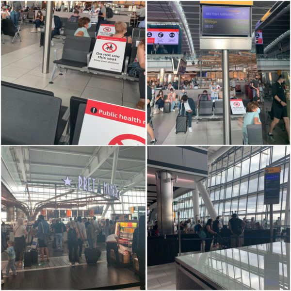 heathrow airport terminal 5 departures covid july 2020