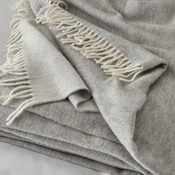 wool cashmere throw