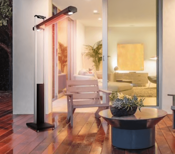 folding arm infrared outdoor heater