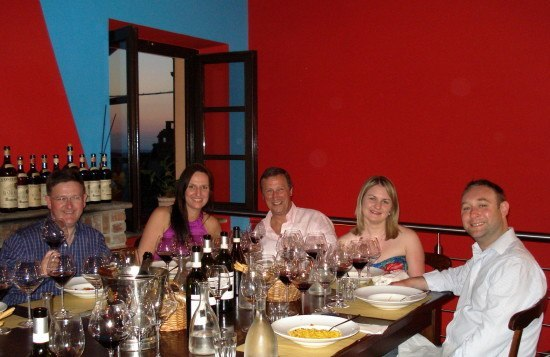 Dining at Alessio's