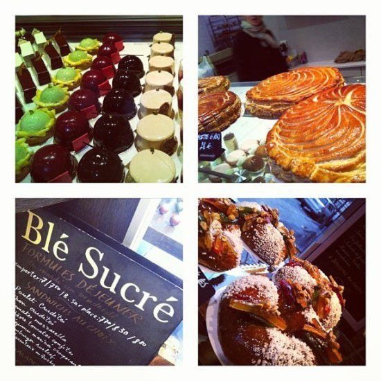 Second breakfast of the day at Blé Sucré in Paris with A Genie in Paris