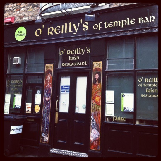 Do we have a pub in Temple Bar?