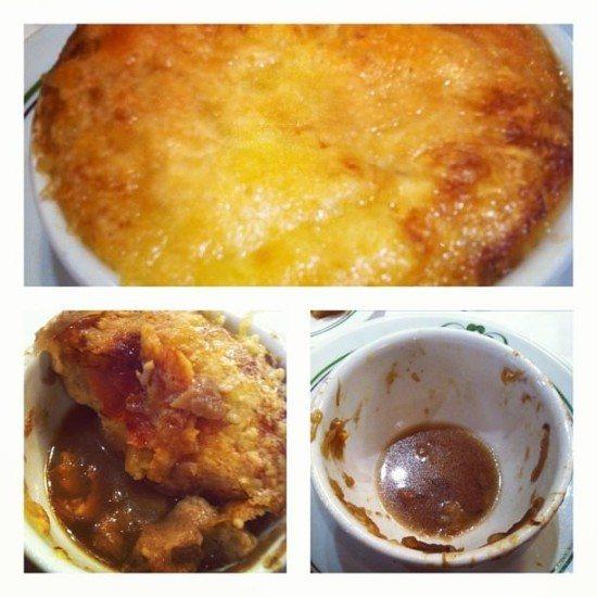 Onion Soup - yummy!