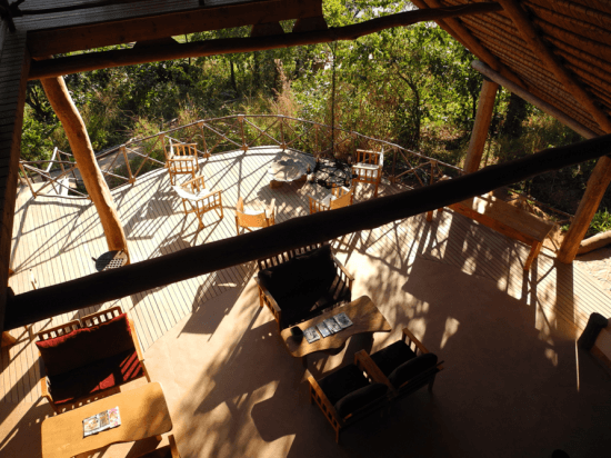 Tree house lobby at Tongole Wilderness Lodge