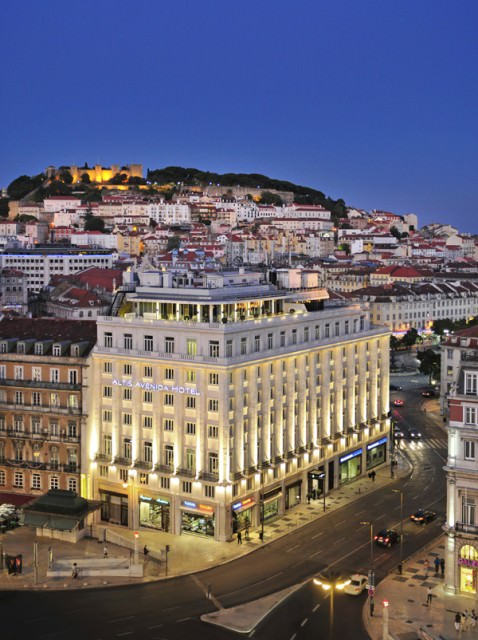 The Altis Avenida and one of Lisbon's 7 hills