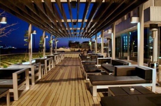 The bar at Altis Belem