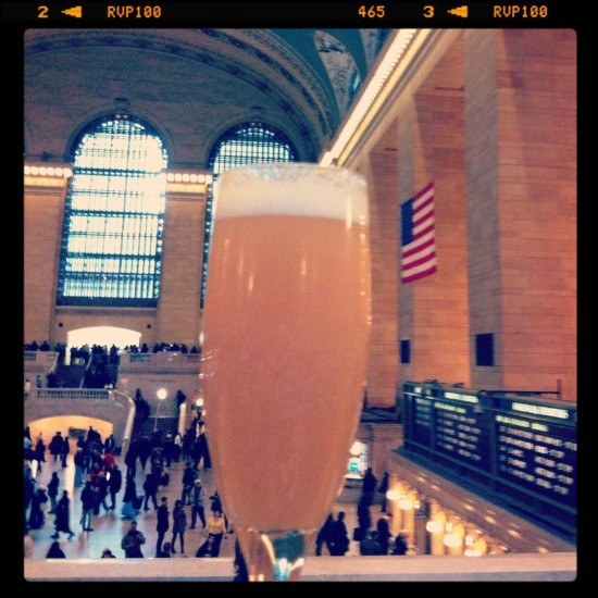 A bellini is always a good idea!