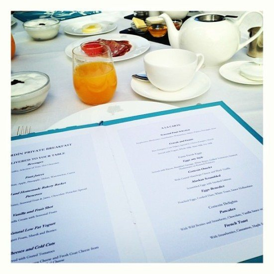 """Loved the concept of the """"El Jardin Private Breakfast"""""""