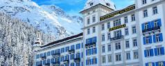 A lux ski weekend in St. Moritz, Switzerland