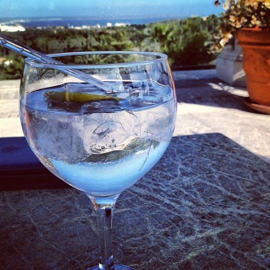 I seriously think G&Ts taste better in Spain...