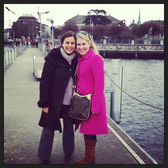 Me and Lauren in Zurich